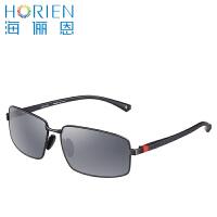 海俪恩2016新款太阳镜 男士墨镜 男款偏光镜 方框N6368