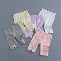 童新款女宝宝打底裤婴儿裤子七分裤婴幼儿夏装