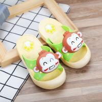 儿童拖鞋 男女童可爱卡通拖鞋子夏季韩版新款中小童男女宝宝幼儿包头护趾防滑凉拖