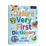 英文原版绘本正版牛津儿童启蒙图画图解辞典 Oxford Very First Dictionary 英英字词典 4-5