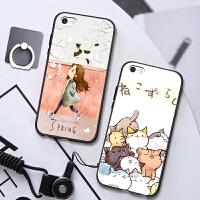 苹果5s手机壳 iphone5s手机套硅胶防摔挂绳创意5se手机壳简约女款