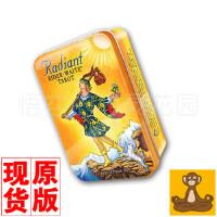 韦特塔罗亮彩铁盒版 Radiant Rider Waite Tarot 塔罗牌 正版 维特塔罗 伟特塔罗[悟空心灵花园