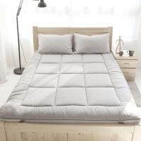 柔软床护垫席梦思保洁垫可折叠床褥子垫被 灰 色