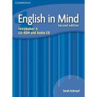 【预订】English in Mind Level 5 Testmaker CD-ROM and Audio