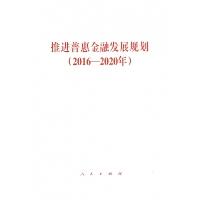 推进普惠金融发展规划(2016-2020年)