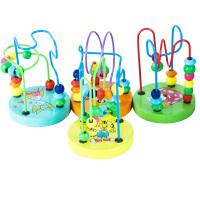 儿童串珠绕珠早教玩具10-11个月宝宝开发智力玩具0-1-2-3岁