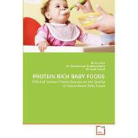 【预订】Protein Rich Baby Foods