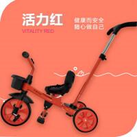 儿童三轮车脚踏车1-3岁轻便手推车宝宝自行车2-6岁小孩男童车大号