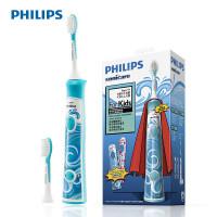 【包邮】飞利浦(Philips) 儿童充电式电动牙刷HX6312/05 声波振动儿童自动牙刷