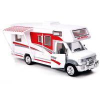 美致MZ 房车车模 房车玩具 合金汽车房车模型 MZ豪华房车-白色(颜色随机)