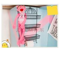 大学生宿舍神器女寝室创意铁艺收纳架空间大师置物架衣柜侧边挂架 ・组合款+ 3个篮