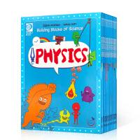 【全店300减100】英文原版 这就是物理 10册 科普漫画 Building Blocks of Physical S