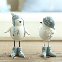 创意家居树脂摆件送女友生日礼物新婚节庆装饰树脂工艺品小鸟摆件
