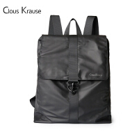 Clous Krause 新款英伦CK双肩包男士大容量休闲旅行背包电脑轻便潮包