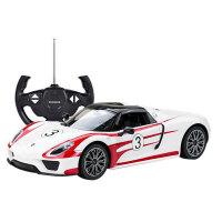 星辉 遥控车保时捷918赛车版1:14内置USB充电可漂移跑车模型 男孩儿童玩具70770