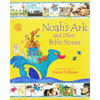 Noah's Ark and Other Bible Stories 诺亚方舟等圣经故事 英文原版 人文漫画绘本 Ma