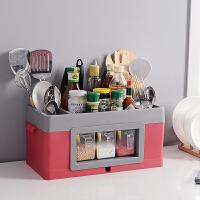 家用落地储物筷子收纳盒刀架厨房置物架调料调味用品用具收纳架