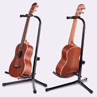 吉他架子立式支架尤克里里放置架可调节家用吉他琴架地架易携带