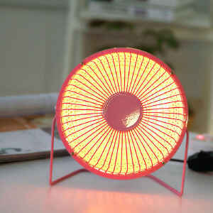 物有物语 迷你取暖器 冬季微型小太阳家用6寸暖风机办公室桌面台式随身便携暗光电暖器暖手烤火炉