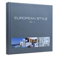 EUROPEAN STYLE VOL II 欧式风格2 西方欧式元素住宅装饰 大视图 室内设计图书籍
