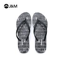 jm快乐玛丽新品时尚夹趾人字拖休闲沙滩女凉拖鞋