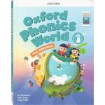 新版oxford phonics world 1 The Alphabet 牛津自然拼读法 英文原版 Level 1级