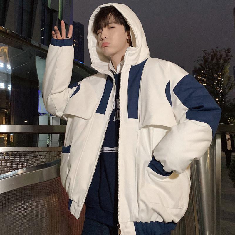 男士冬季外套2018新款宽松棉衣棉袄韩版潮流帅个性学生加厚面包服