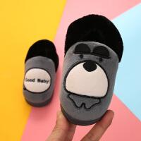 宝宝棉鞋冬季棉拖鞋居家儿童室内卡通男女童冬天厚底保暖防滑拖鞋