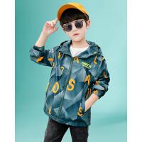 木木屋男童外套春夏款男孩2021新款儿童春季休闲上衣中大童风衣洋气潮