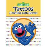 【预订】Sesame Street Tattoos Counting with Grover [With