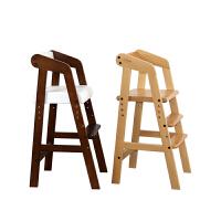 儿童餐椅实木可调节宝宝餐桌高脚椅宝宝吃饭餐椅学习座椅婴儿bb凳