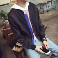 春季新款男装外套纯色棒球领学生青少年潮男士薄款短款小外套