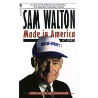 【现货】英文原版 Sam Walton, Made in America: My Story 富甲美国:世界500强*