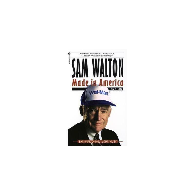 【现货】英文原版 Sam Walton, Made in America: My Story 富甲美国:世界500强*名沃尔玛创始人萨姆?沃尔顿自传 国营进口!品质保证!