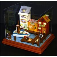 diy小屋 T系列创意音乐玻璃屋/木马系列 创意礼品 k