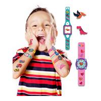 儿童纹身贴纸公主男孩女孩防水安全无毒宝宝卡通汽车手表水印贴纸