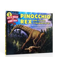 英文原版绘本 Pinocchio Rex and Other Tyrannosaurs匹诺曹霸王龙 儿童英语故事图文书