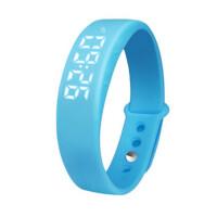 运动计步手表手环USB充电初高中男女学生手表电子表