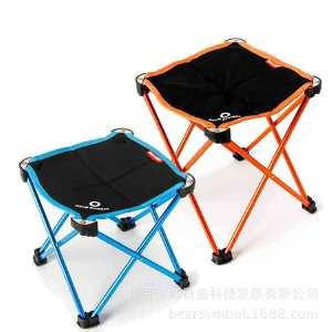 门扉 折叠凳 新款户外露营超轻铝合金折叠椅 折叠凳 小马扎 钓鱼椅子