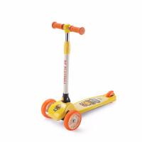 小黄鸭儿童滑板车闪光可折叠伸缩初学者滑滑车踏板车bduck