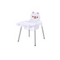 可折叠可伸缩调高度儿童餐椅 婴儿餐桌椅宝宝吃饭的多功能座椅子