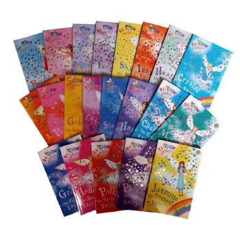 英文原版Rainbow Magic fairies 1-21 21本彩虹魔法女孩爱章节书