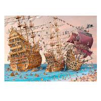 拼图海盗船1000片DIY玩具礼物
