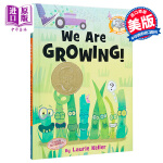 【中商原版】小猪小象爱阅读 成长的故事 英文原版 We Are Growing! 精装 莫威廉斯 儿童绘本 3-8岁