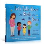 顺丰发货 英文原版绘本 Let's Talk About the Birds and the Bees 让我们来谈谈鸟