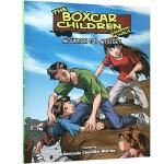 顺丰发货 英文原版绘本 棚车少年 漫画版 The boxcar children 第9本 Mountain Top M