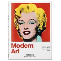 【原版】Modern Art 1870-2000 现代印象派艺术 画册图书籍 画册绘画图画本 画册本 手绘 画册印刷 画册古风