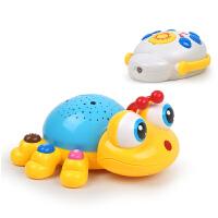 儿童投影灯星空灯音乐早教灯旋转投影仪安睡灯发光玩具