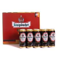 德冠1689 黑啤酒礼盒500mlx10 德国原装进口