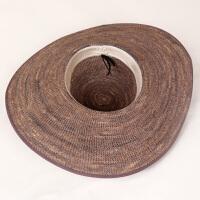 夏天出游海边夏季大帽檐遮阳帽防晒海滩大沿沙滩帽子